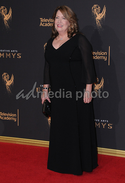 10 September  2017 - Los Angeles, California - Ann Dowd. 2017 Creative Arts Emmys - Arrivals held at Microsoft Theatre L.A. Live in Los Angeles. Photo Credit: Birdie Thompson/AdMedia