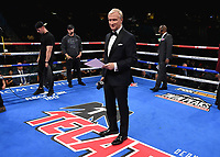 LAS VEGAS - NOVEMBER 23: Jimmy Lennon Jr. on the Fox Sports PBC Fight Night at the MGM Grand Garden Arena on November 23, 2019 in Las Vegas, Nevada. (Photo by Frank Micelotta/Fox Sports/PictureGroup)