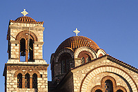 St Nicholas Greek Orthodox Church in Delphi Greece