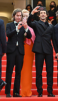 CANNES, FRANCE. July 12, 2021: Wes Anderson & Adrien Brody at the gala premiere of Wes Anderson's The French Despatch at the 74th Festival de Cannes.<br /> Picture: Paul Smith / Featureflash
