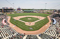 Dell Diamond in Round Rock, Texas on May 9, 2011. (Photo by Andrew Woolley / Four Seam Images)
