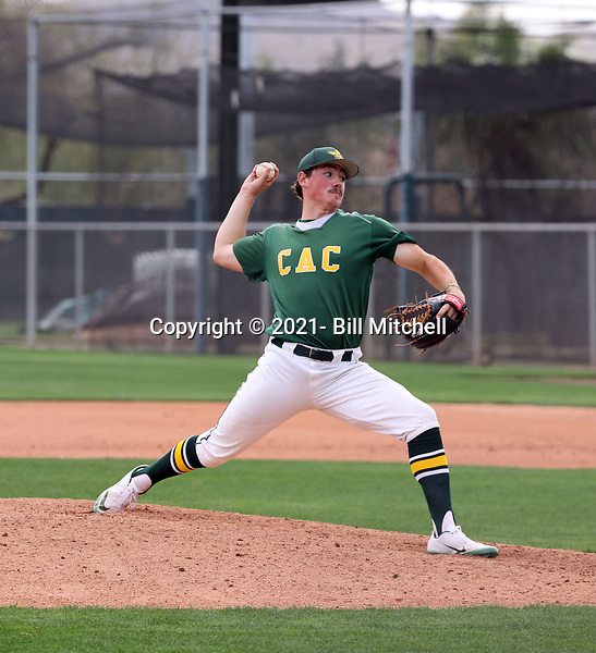 Hunter Omlid - 2021 Central Arizona College Vaqueros (Bill Mitchell)