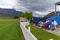 20th November 2020; John Davies Oval, Queenstown, Otago, South Island of New Zealand. New Zealand A versus  West Indies. West Indies bench