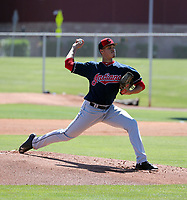 Sergio Morillo - Cleveland Indians 2019 extended spring training (Bill Mitchell)