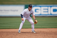 Detroit Tigers third baseman Spencer Torkelson (19) during a Florida Instructional League game against the Pittsburgh Pirates on October 16, 2020 at Joker Marchant Stadium in Lakeland, Florida.  (Mike Janes/Four Seam Images)