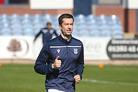 3rd April 2021; Dens Park, Dundee, Scotland; Scottish FA Cup Football, Dundee FC versus St Johnstone; Cammy Kerr of Dundee during the warm up before the match