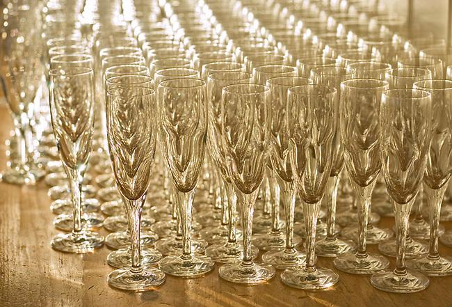Glasses for sparkling wine