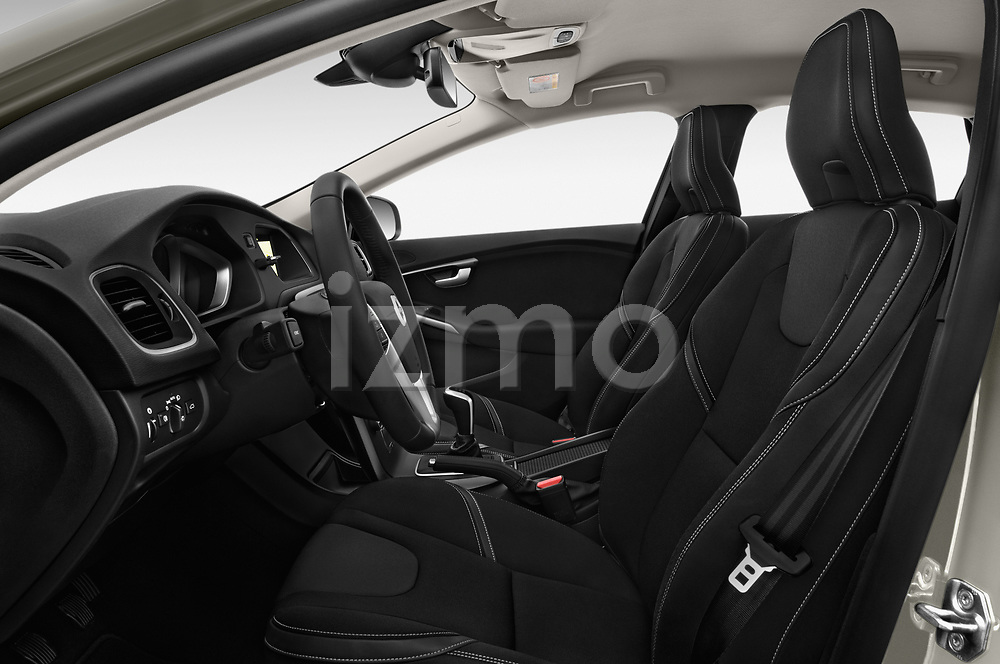 Front seat view of 2017 Volvo V40 Momentum 5 Door Hatchback Front Seat  car photos