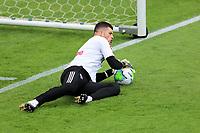 4th October 2020; Couto Pereira Stadium, Curitiba, Parana, Brazil; Brazilian Series A, Coritiba versus Sao Paulo; Tiago Volpi of Sao Paulo, warms up before the match
