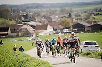Lukas Pöstlberger (AUT/BORA - hansgrohe)<br /> <br /> 74th Dwars door Vlaanderen 2019 (1.UWT)<br /> One day race from Roeselare to Waregem (BEL/183km)<br /> <br /> ©kramon