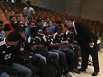 Sharpstown soccer players gather to hear Houston Dyamo Boniek Garcia speak
