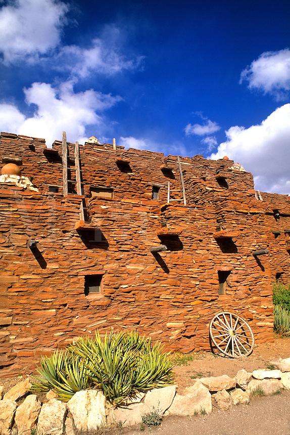 Navajo Ancient House of South Rim at Grand Canyon beautiful image in Arizona US