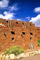 Navajo Ancient House of South Rim at Grand Canyon beautiful image in Arizona US
