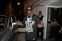 """MIAMI BEACH - MARCH 08, 2008: (EXCLUSIVE COVERAGE) Sean """"P Diddy"""" Combs leaving a Miami Nightclub. March 7, 2008 in Miami Beach, Florida. <br /> <br /> <br /> People:  Sean Combs"""
