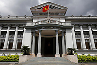 Ho-Chi-Minh City museum<br /> <br /> The grand downtown mansion that was the former French Governor's Residence and the final residence of  South Vietnamese President Ngo Dinh Diem, is now the Ho Chi Minh City Museum. The building is imposing  The account of Saigon's revolutionary movement is the most interesting.