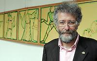Piergiorgio Olivetti, direttore di Citta' Slow, nella sede dell'associazione al Palazzo del Gusto, Orvieto, 20 maggio 2008..UPDATE IMAGES PRESS/Riccardo De Luca