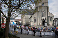 peloton in Overijse<br /> <br /> 61st Brabantse Pijl 2021 (1.Pro)<br /> 1 day race from Leuven to Overijse (BEL/202km)<br /> <br /> ©kramon
