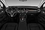 Straight dashboard view of a 2019 GMC Sierra 1500 SLT 4 Door Pick Up