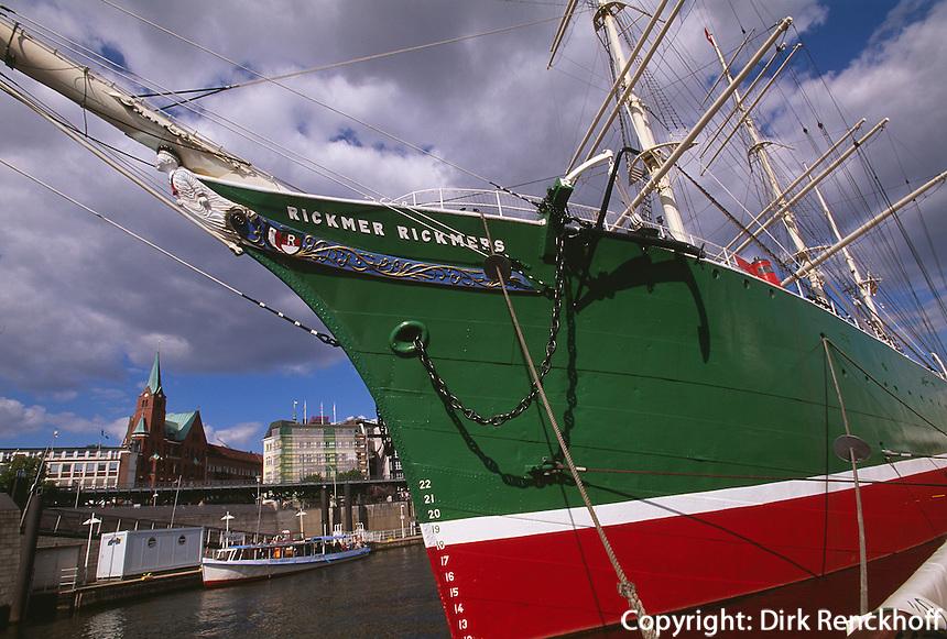 Deutschland, Hamburg, Museumsschif Rickmer Rickmers