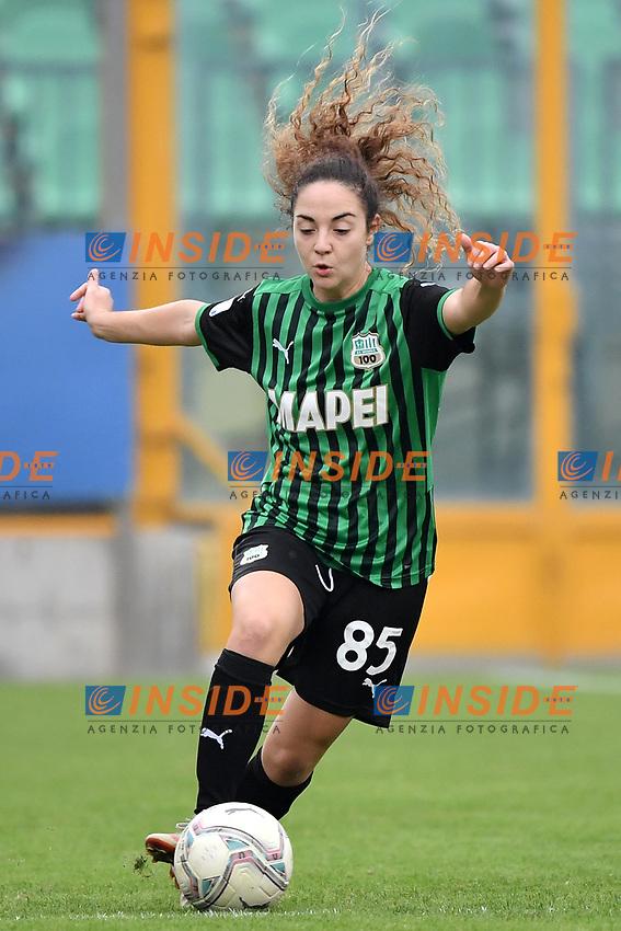 Maria Luisa Filangeri of Sassuolo in action during the women Serie A football match between US Sassuolo and Hellas Verona at Enzo Ricci stadium in Sassuolo (Italy), November 15th, 2020. Photo Andrea Staccioli / Insidefoto