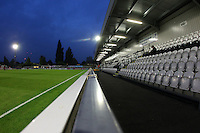 General view of the ground ahead of Arsenal Under-23 vs Southampton Under-23, Premier League 2 Football at Meadow Park on 14th October 2016