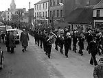 St. Patrick's Day Killarney in the 1950's..Picture by Harry MacMonagle