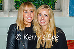 Enjoying the evening the in Benners on Saturday, l to r: Jennifer Falvey and Michelle Corkery from Milltown