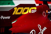 Special livery of the Scuderia Ferrari SF1000, of VETTEL Sebastian, during the Formula 1 Pirelli Gran Premio Della Toscana Ferrari 1000, 2020 Tuscan Grand Prix, from September 11 to 13, 2020 on the Autodromo Internazionale del Mugello, in Scarperia e San Piero, near Florence, Italy <br /> Mugello 13-09-2020 Formula 1 Gp Toscana<br /> Photo FLORENT GOODEN/DPPI/Panoramic/Insidefoto <br /> ITALY ONLY
