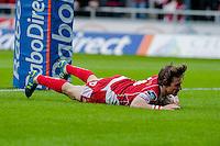 2014 05 10 Rabo Direct,Scarlets v Cardiff Blues rugby,Llanelli,UK