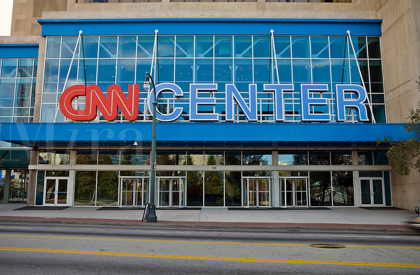 The Atlanta headquarters of CNN