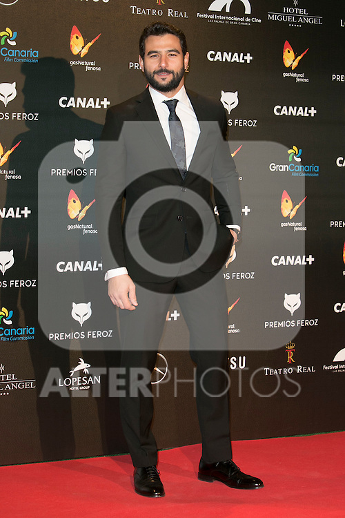 Antonio Velazquez attends the Feroz Cinema Awards 2015 at Las Ventas, Madrid,  Spain. January 25, 2015.(ALTERPHOTOS/)Carlos Dafonte)