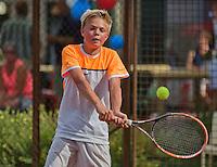 Netherlands, Dordrecht, August 03, 2015, Tennis,  National Junior Championships, NJK, TV Dash 35, <br /> Liam Liles<br /> Photo: Tennisimages/Henk Koster