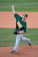 Siena Saints pitcher Ed Lewicki #26 during a game against the Central Florida Knights at Jay Bergman Field on February 16, 2013 in Orlando, Florida.  Siena defeated UCF 7-4.  (Mike Janes/Four Seam Images)