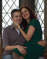 Jen & Chris' engagement session at Hartwood Acres' mansion, Pittsburgh on January 2, 2013.