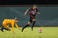 AND, A - SEPTEMBER 11: Carlo Agostinelli during a game between San Jose State and Stanford University at And on September 11, 2021 in And, A.