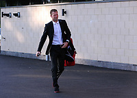 Wednesday 28 August 2013<br /> Pictured: Assistant manager Morten Wieghorst at the Swansea training ground.<br /> Re: Swansea City FC players and staff en route for their UEFA Europa League, play off round, 2nd leg, against Petrolul Ploiesti in Romania.
