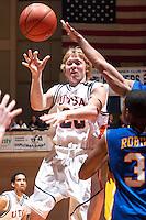 SAN ANTONIO, TX - FEBRUARY 9, 2006: The McNeese State University Cowboys vs. The University of Texas at San Antonio Roadrunners Men's Basketball at the UTSA Convocation Center. (Photo by Jeff Huehn)