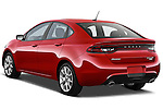 Rear three quarter photo of a 2013 Dodge Dart Rallye sedan