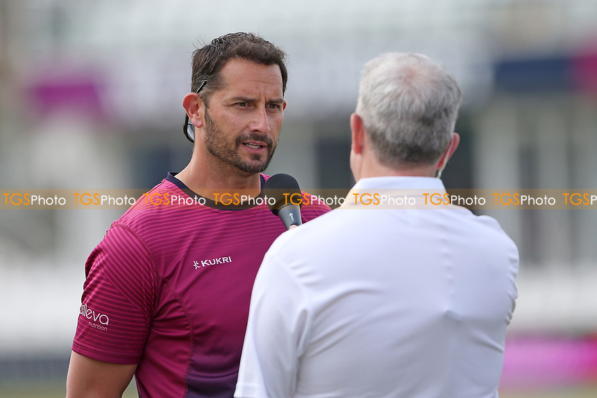 Somerset head coach Jason Kerr is interviewed ahead of Somerset vs Essex Eagles, Vitality Blast T20 Cricket at The Cooper Associates County Ground on 9th June 2021