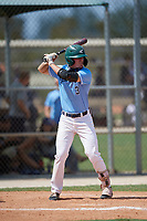 Matt Clark (3) during the WWBA World Championship at Lee County Player Development Complex on October 9, 2020 in Fort Myers, Florida.  Matt Clark, a resident of Upland, California who attends Damien High School, is committed to Arizona.  (Mike Janes/Four Seam Images)