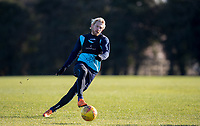 Craig Mackail-Smith of Wycombe Wanderers during the Wycombe Wanderers Training session at Wycombe Training Ground, High Wycombe, England on 17 January 2019. Photo by Andy Rowland.