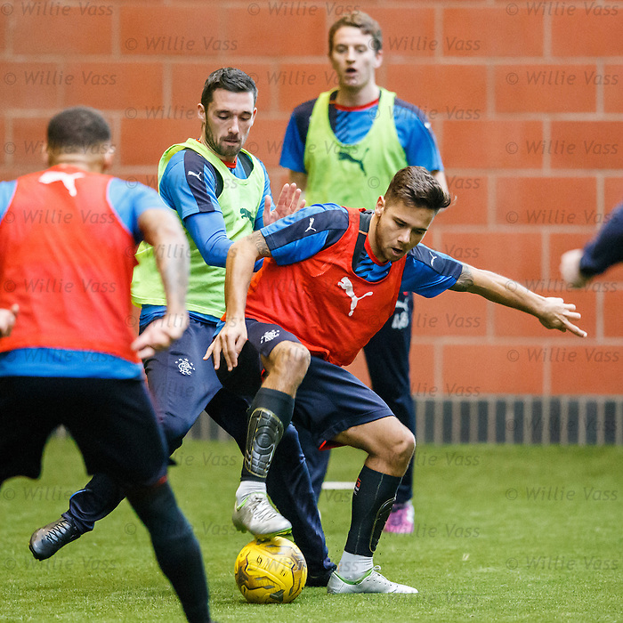 Nicky Clark and Harry Forrester