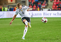 Toni KROOS, DFB 8  <br /> Czech Republic - Germany 1-2, <br /> group C, FIFA World Championships Qualifiers 01.09.2017 in Prag, Czech Republic.<br /> <br />  *** Local Caption *** © pixathlon +++ tel. +49 - (040) - 22 63 02 60 - mail: info@pixathlon.de