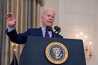 President Biden delivers remarks at the White House