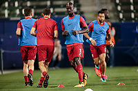 Carson, CA - Sunday January 28, 2018: Ike Opara, USMNT during an international friendly between the men's national teams of the United States (USA) and Bosnia and Herzegovina (BIH) at the StubHub Center.