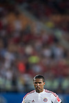 Douglas Costa of Bayern Munich looks on during the Bayern Munich vs Guangzhou Evergrande as part of the Bayern Munich Asian Tour 2015  at the Tianhe Sport Centre on 23 July 2015 in Guangzhou, China. Photo by Aitor Alcalde / Power Sport Images