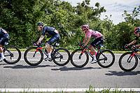 Maglia Rosa / Pink Jersey / GC Leader Egan Bernal (COL/Ineos Grenadiers)<br /> <br /> 104th Giro d'Italia 2021 (2.UWT)<br /> Stage 15 from Grado to Gorizia (147km)<br /> <br /> ©kramon