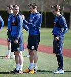 Andy Mitchell, Andy Little and Robbie Crawford