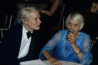 Warhol Carter3741.JPG<br /> New York, NY 1977 FILE PHOTO<br /> Andy Warhol & Lillian Carter; Studio 54<br /> Digital photo by Adam Scull-PHOTOlink.net<br /> ONE TIME REPRODUCTION RIGHTS ONLY<br /> NO WEBSITE USE WITHOUT AGREEMENT<br /> 718-487-4334-OFFICE  718-374-3733-FAX