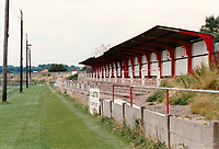 General view of Redditch United FC, Valley Stadium, Redditch, Worcestershire, pictured on 2nd August 1992